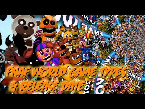 Fnaf world theory s game type release date freddy spotlights
