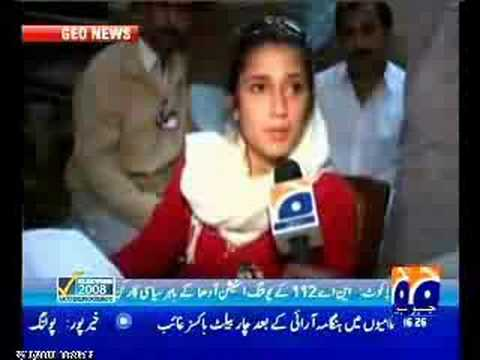 Fatima Bhutto speaks about rigging in election 2008