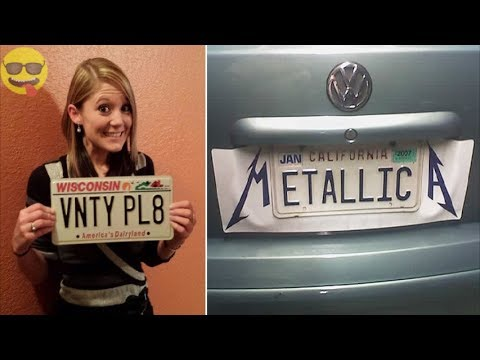 Funny And Creative License Plates