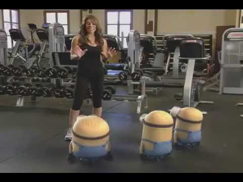 MINIONS IN THE GYM!