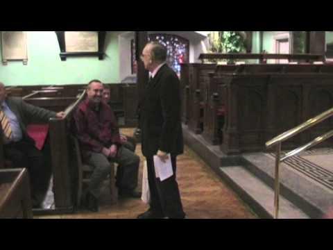 Max Ingram of St. Ann's Church Dawson Street his Tour and his Faith