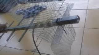 Membuat antena hp 4G biar setabil dg bekas kawat kuningan