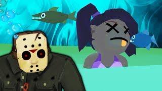 - Как Джейсон Вурхиз проводит вечеринку на пляже ПЯТНИЦА 13 мобильная версия хоррор игры от ФГТВ