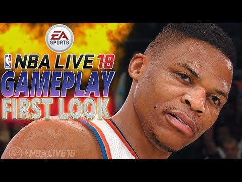 NBA LIVE 18 EXCLUSIVE GAMEPLAY FIRST LOOK + EA SPORTS LOOT BOX OPENING + MY TRIP TO L.A. (VLOG)