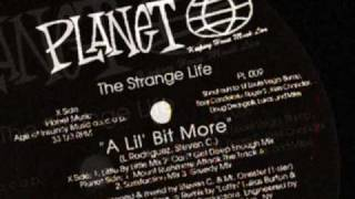 The Strange Life - A Lil Bit More (Little By Little Mix) 1993
