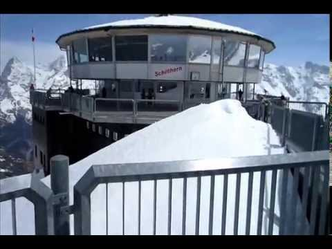 Schilthorn Part 3 Lunch at 9744 feet  May 21, 2014
