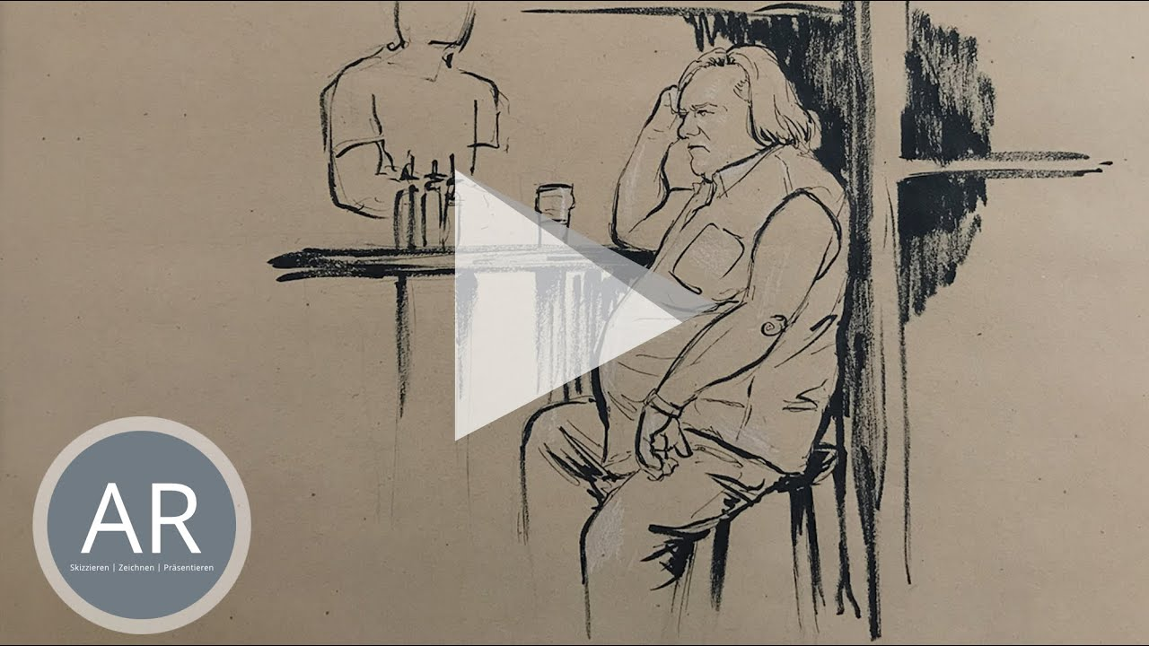 Youtube Video: urban sketching zeichnen lernen