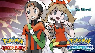 Repeat youtube video Pokemon Omega Ruby/Alpha Sapphire - Battle! Rival Music (HQ)