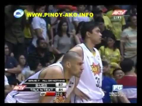 PBA FINALS GAME 7  B-Meg Derby Ace  Vs Talk N Text  May 6 2012(OVERTIME)
