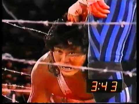Atsushi Onita vs. Terry Funk Exploding No Rope Barbed Wire Exploding Ring Time Bomb Death Match