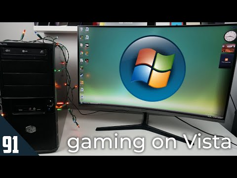 Gaming On Windows Vista, 13 Years Later