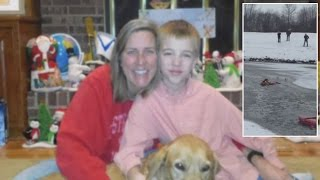 8-Year-Old Boy Hailed A Hero For Calling 911 To Save Mom And Dog From Icy Lake