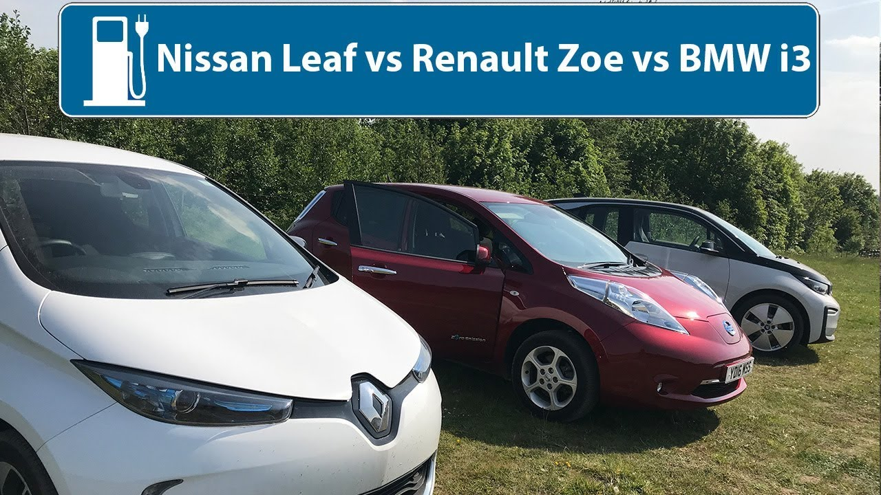 Nissan Leaf Vs Renault Zoe Vs Bmw I3 Which Is The Best Used