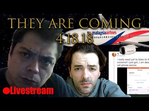 THEY ARE COMING 4/18/18(w/Donald Marshall) LIVESTREAM