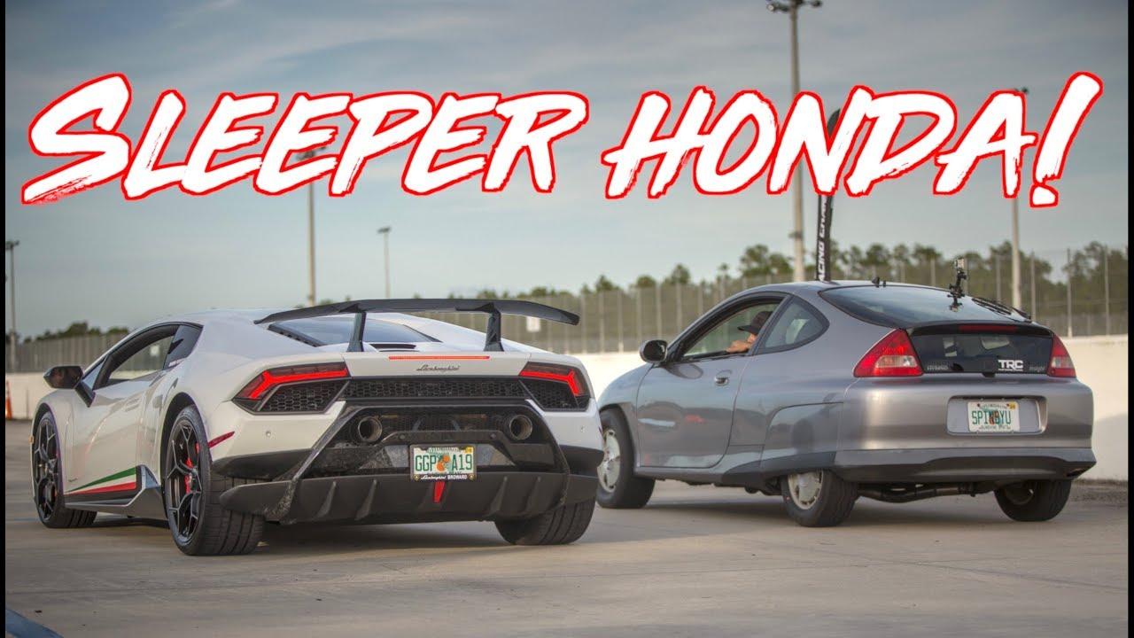 7000 Sleeper Honda Hybrid Surprises Supercars Lamborghini Gtr Z06 Corvette
