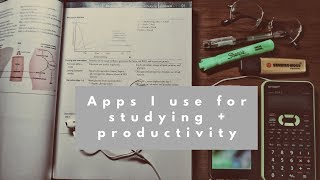 Apps I use for School & Productivity (Medical School Edition)