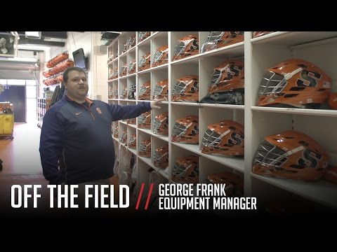 Off The Field: Syracuse Lacrosse Equipment Room Tour
