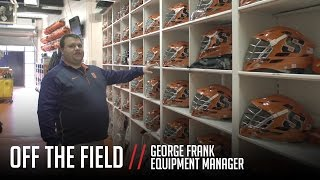 Off the Field: Syracuse Lacrosse Equipment Room Tour thumbnail