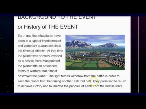 """NWO Website Declares: the """"New Society"""" Is """"Almost"""" Here! Prepare Yourself For """"THE EVENT"""""""
