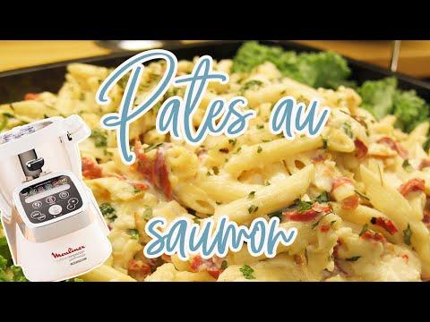 recettes-companion-—-pÂtes-au-saumon,-courgette-et-fromage-frais