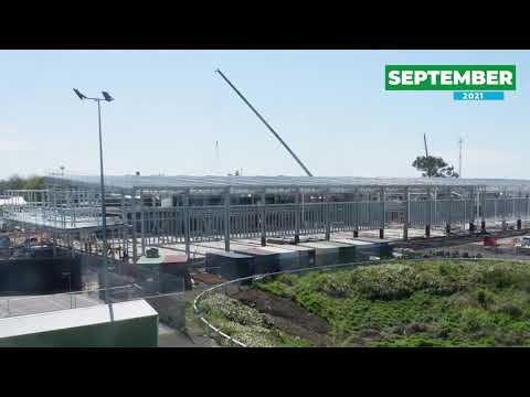 Wulanda Recreation and Convention Centre - Construction Time-lapse September 2021