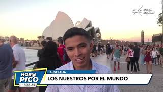 Los Nuestros por el Mundo - Periodista colombiano en Australia