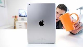The 2017 iPad makes a great COASTER!?