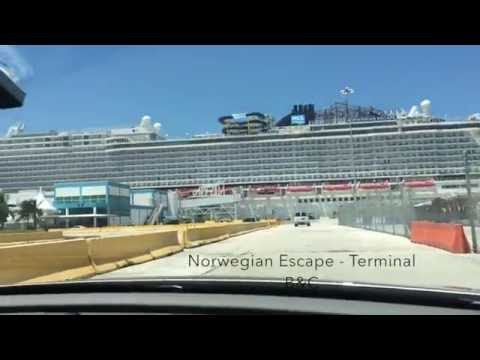 Port Of Miami Cruise Ship Spotting July 9th, 2016