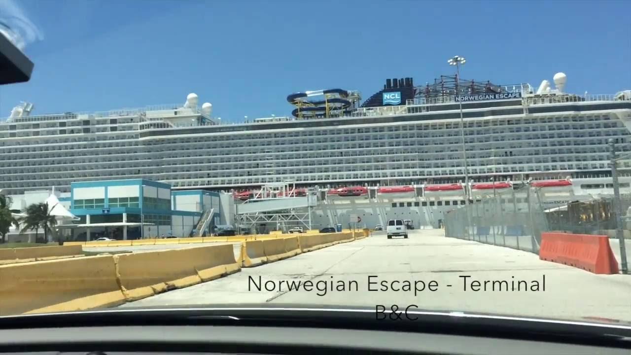Port Of Miami Cruise Ship Spotting July Th YouTube - Cruise ship port in miami