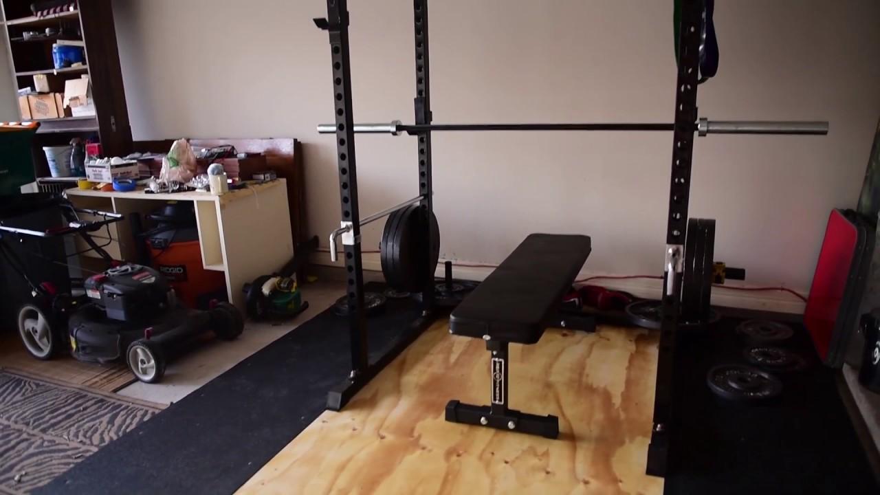 My garage gym tour youtube