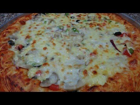 صورة  طريقة عمل البيتزا اسهل طريقه لعمل البيتزا احلي من المحلات مع صدفه جاد طريقة عمل البيتزا من يوتيوب