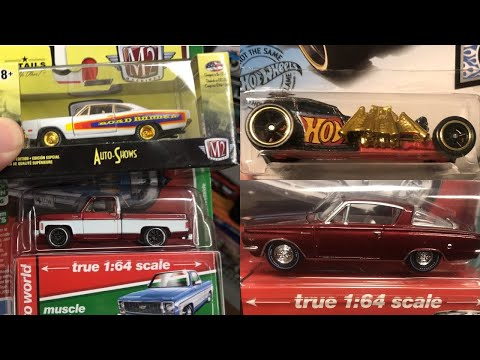 Best Day Ever - Auto World Ultra Red X2, M2 Chase, & Hot Wheels Super Treasure Hunt