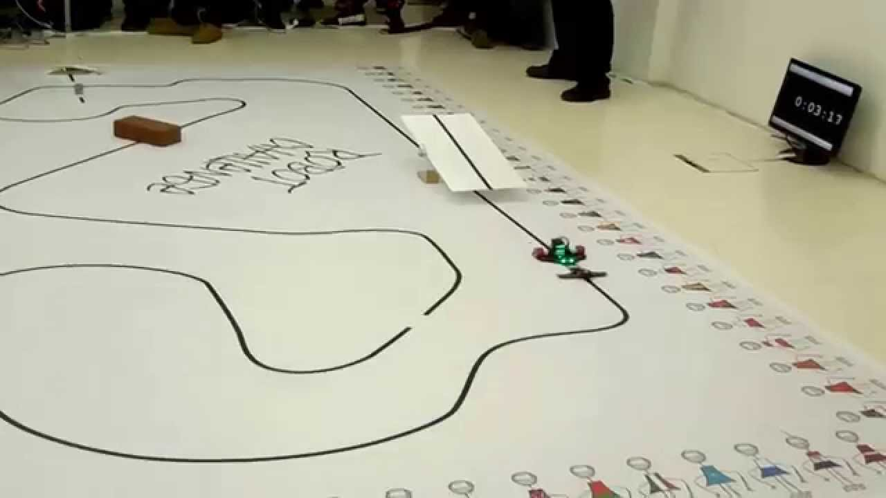 line follower robot track pdf