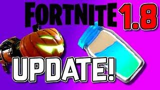 FORTNITE UPDATE 1.8!😱 | Fortnite Halloween update with Skins! German