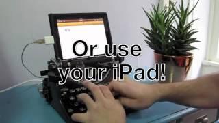 Скачать USB клавиатура из печатной машинки