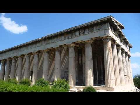 Greece Athens. Acropolus Agora Sounion Zeus Museum