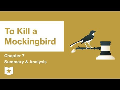 to-kill-a-mockingbird- -chapter-7-summary-&-analysis- -harper-lee