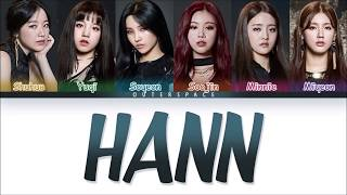[HanRomVietsub] (G)-IDLE - HANN (COLOR CODED)