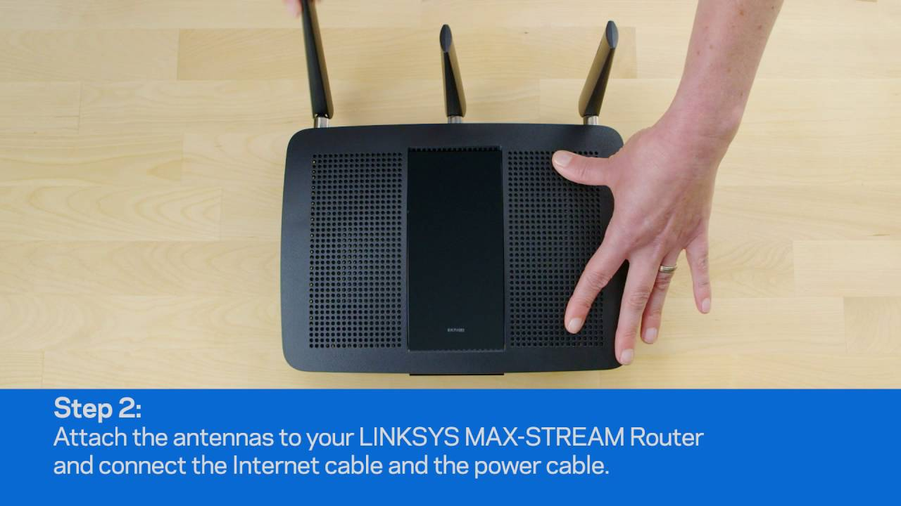 Linksys MAX-STREAM Routers - Easy Setup - YouTube