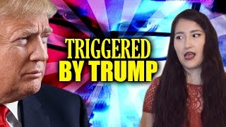 YOUTUBE FEMINIST TRIGGERED BY TRUMP! thumbnail