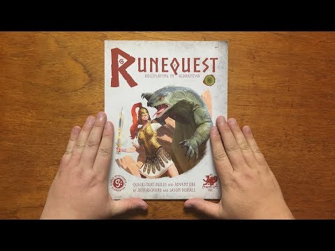 Bud's RPG review - Quickstart Rules for Runequest: Glorantha by Chaosium