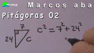 teorema de pitágoras - aula 02