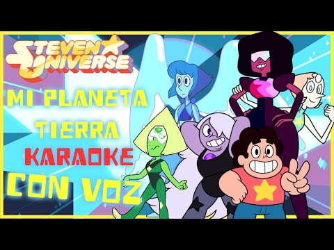 Mi Planeta Tierra   Crystal Gems Karaoke (Con Voz)
