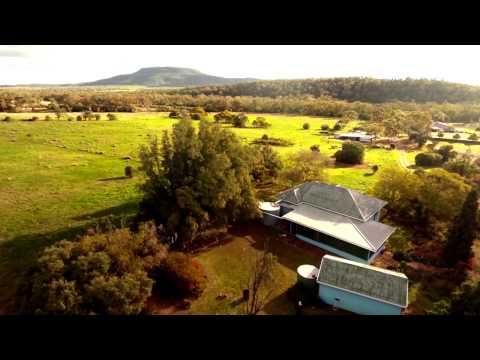 FATHER TO SON - LIVERPOOL PLAINS. NSW. AUSTRALIA
