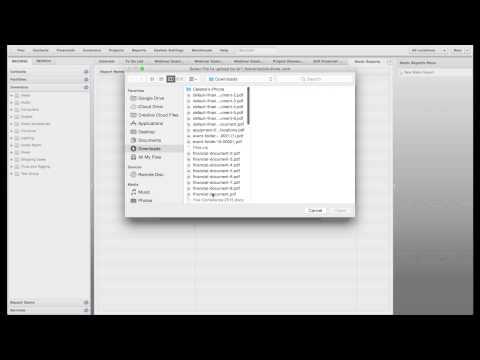 Webinar - Reports