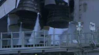 Shuttle Engines during take off