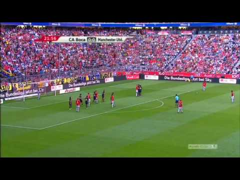 ~ Manchester United vs Boca Juniors ~ 2-1 Highlights - Audi Cup 2009 ~ [HD]
