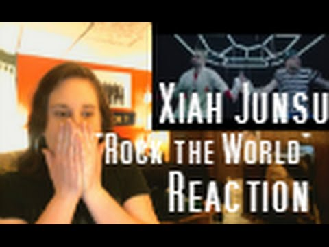 "(JUNSU?!?! WHY?!?!) Xiah Junsu ""Rock the World"" Reaction"