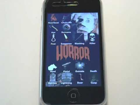 Horror iPhone Soundboard -  Scary Sounds and music