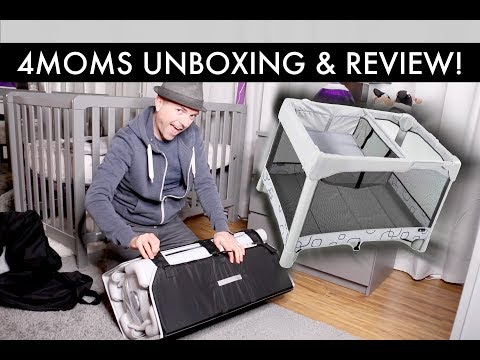 4moms Breeze Classic Playard Unboxing & Review - First Impression /// McHusbands